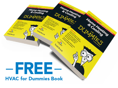 Free HVAC for Dummies Book! Learn about furnaces!