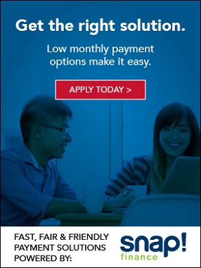 Apply today for easy low payment options